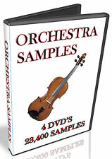 ORCHESTRA SAMPLES- PROPELLERHEADS REASON REFILL- 3,4,5,6 -  PROFESSIONAL QUALITY