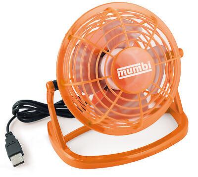 USB-Tisch-Ventilator mit Schwenkkopf Tischventilator Cooler Desktop Fan Venti