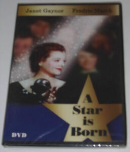 A-Star-Is-Born-Janet-Gaynor-Fredric-March-1934-Movie-New-DVD-Nice-SEE
