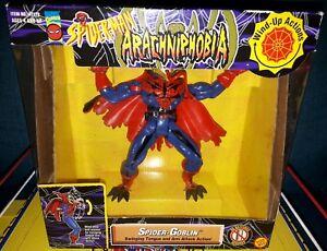Marvel Spiderman Arachniphobia Figurine Toybiz Spider-goblin à collectionner