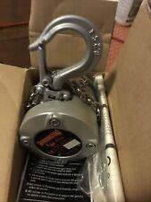 Harrington Cx Mini Hand Chain Hoist 10 Lift 14 Ton