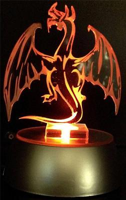 Dragon Flashing Night Light - Small Novelty Gift for Kids