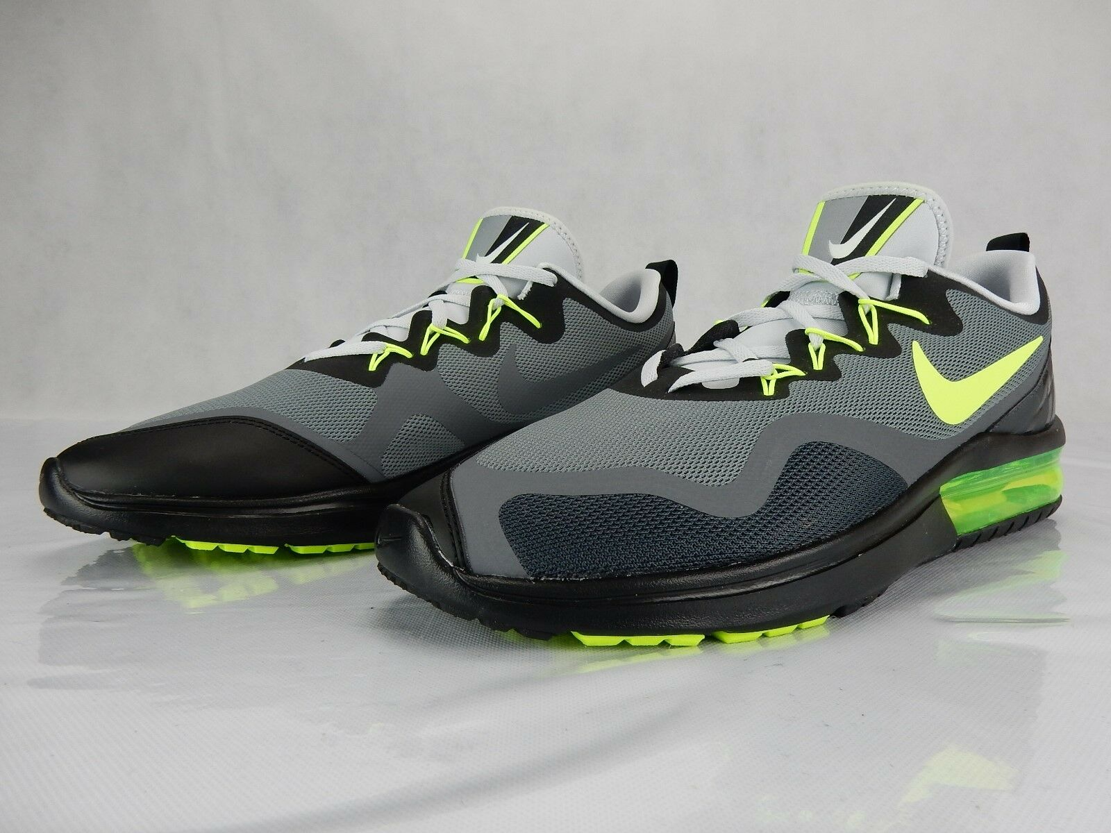 Nike Air Max Fury Grey Volt Anthracite AA5739 007 Mens shoes S Size 13 Sneakers