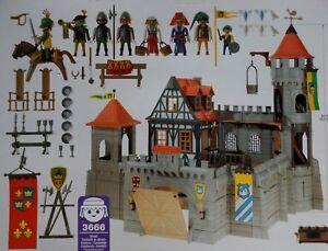 Playmobil Ritterburg Burg Ritter Ersatzteile 3665 3666 3667 3445 3666 Wehrgang