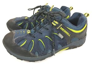 857d8e0d36d Details about Merrell Chameleon Low Lace Waterproof Hiking Shoes Youth Boys  Size 6M