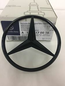 Mercedes-Benz W213 E-Class REAR Boot lid badge Star-Chrome A2138170016