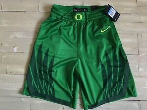 Men-039-s-Nike-Elite-Univ-Of-Oregon-Ducks-Dri-Fit-Basketball-Shorts-Wings-Size-M