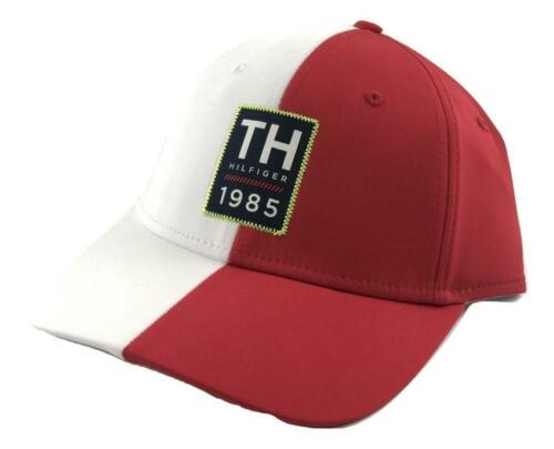 Tommy Hilfiger Men/'s Adjustable Hat Cap Navy Black Red White Yellow Denim