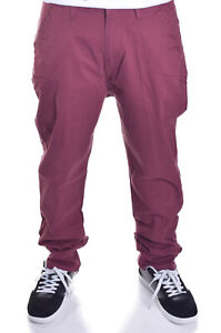 newest discover latest trends on wholesale Details about Third Army Denim CO Mens Burgundy Red Skateboard Chino Pants  Choose Size
