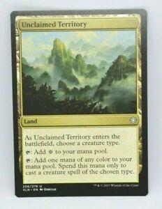 Unclaimed Territory Near Mint Normal English Magic Card Ixalan MTG TCG
