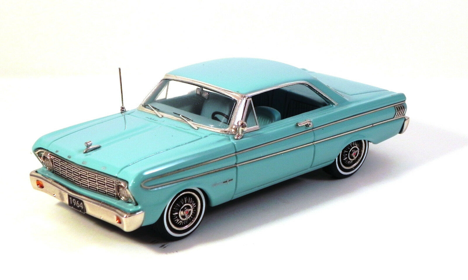 HIGHWAY TRAVELERS 1964 FORD FALCON FUTURA SPRINT HT TURQUOISE  HWT 112