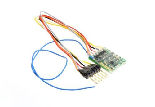 Zimo mx621f miniature décodeur nem651 0,7a DCC petit lokdecoder 6 broches piste N