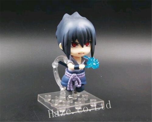 Naruto Sasuke Uchiha ShippudenNendoroid PVC Action Figure Toy New In Box 10cm