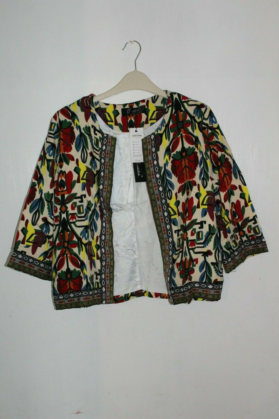O-Nelue Aztec Blazer Multicoloured Size Large DH094 OO 19