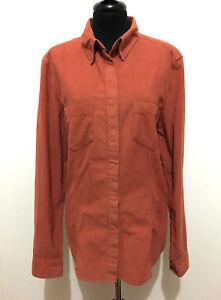 grande vente a3b92 de4dd Détails sur Trussardi Jeans Chemise Femme en Velours Texas Western Velvet  SZ.L - 46