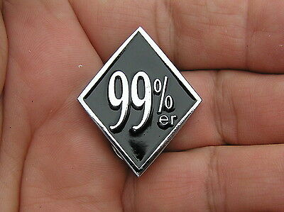 99%er LAPEL PIN Badge *TOP QUALITY* Biker Emblem suit HARLEY-DAVIDSON Vest