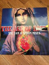 """Jam And Spoon - The Age Of Love 90s 12"""" inch Vinyl Trance Techno Dance Rare"""
