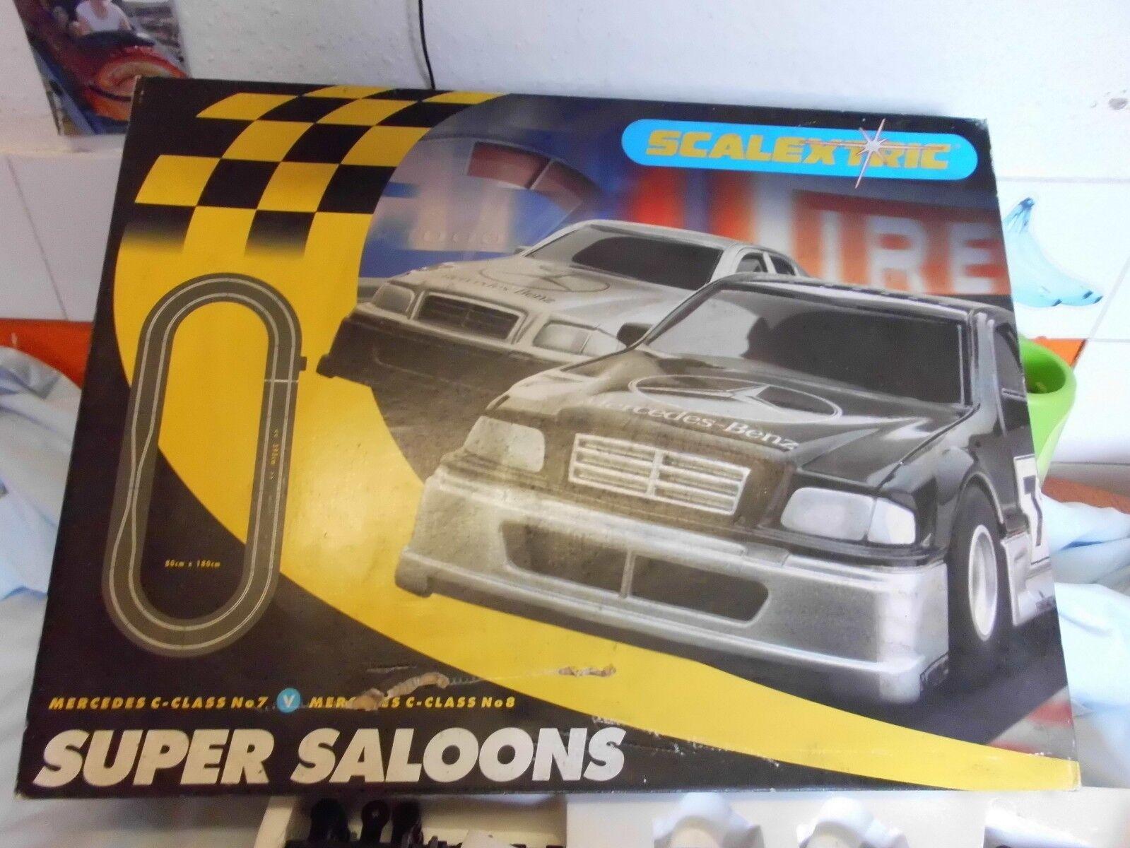 Scalextric Super Saloons Mercedes C Class in Original Box