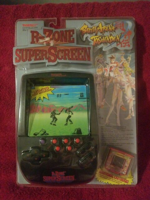 1996 Tiger R-zone Super Screen Electronic Video Game ...