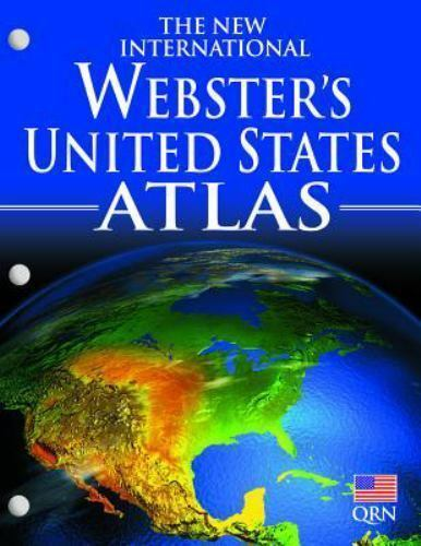 Webster's United States Atlas Brand New and Free Shipping too