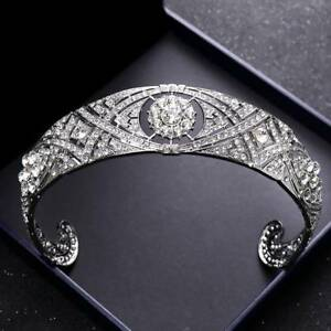 Wedding-Tiara-Crown-Bridal-Accessories-Headpiece-Hair-Jewelry-Bride-Headband-b