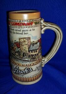 COLLECTIBLE-STROH-039-S-034-THE-STROH-BREWERY-STORY-034-BEER-STEIN