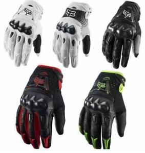 MX Motocross Dirt Bike Off Road ATV Mens Gloves Fox Racing Bomber Gloves 2020