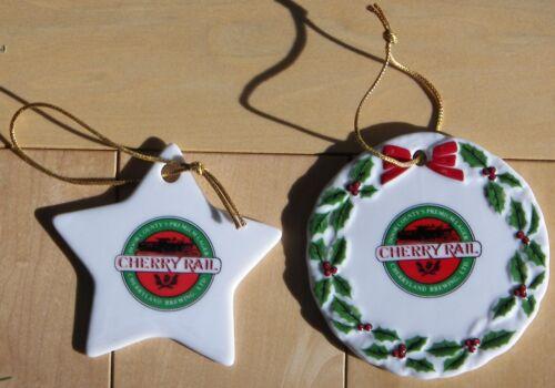 Wisconsin Christmas ornament Door County Cherryland Brewery Sturgeon Bay