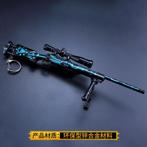 1//6 1:6 pubg M24 湛蓝 SNIPER ARMA Pistola NOI BATTLEFIELD 4 campo di battaglia metallo 6.7 pollici