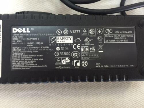 Genuine Dell 130W Pa-13 AC Power Supply 19.5V 6.7A for Precision M170 M1710 etc
