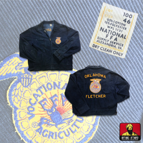 Vintage FFA Vocational Agriculture Oklahoma Fletch