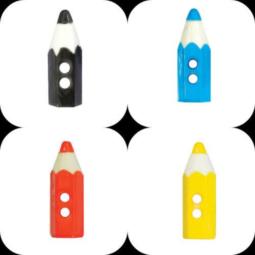 Botones Estilo Lápiz Fino Elección De Colores