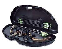 Plano Protector 1110 Compact Bow Hard Case Compound Arrow Archery Storage, Black