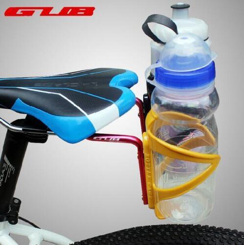 bicycle Rear Mount Saddle-Rail Bracket Two Bottle Cages Converter for triathlon