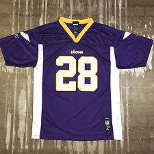NFL Infant//Toddler Girls Minnesota Vikings Adrian Peterson #28 Dazzle Jersey