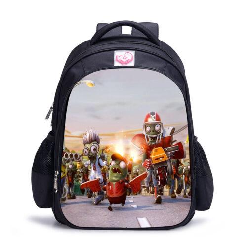 PVZ Plants VS Zombies Series Backpack Student School Bag Buoys Rucksack Cartoon