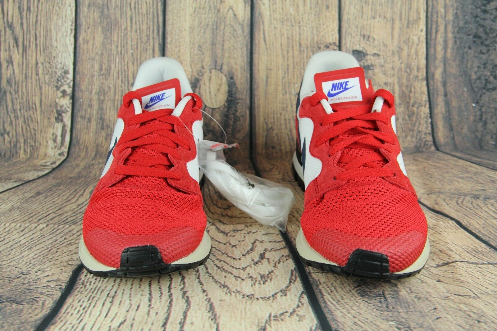 NEW  NIKE AIR BERWUDA Red White blueee extra laces 555305-601 SZ 10.5  all products get up to 34% off