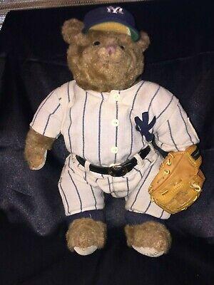 "New York Yankees Resin Figurine 8/"" Cooperstown Bear 1951 Hum Baby A100019"