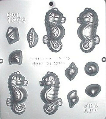 Sea Horse Assembly Chocolate Candy Mold 1266 NEW