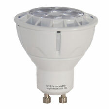 GU10 LED Light Bulb 7W Warm White Dimmable High Power Very Bright Long Life New