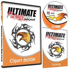 FLAMES CLIPART-VINYL CUTTER PLOTTER IMAGES-VECTOR CLIP ART GRAPHICS CD