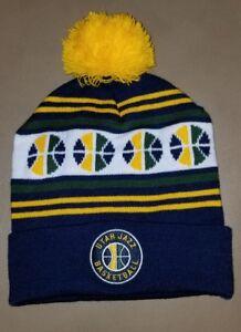 Utah Jazz NBA Winter Knit Hat Cap Basketball Beanie Toboggan Ski ... 399580cdf80