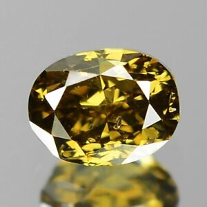 0-18-Ct-NATURAL-Sparkly-Light-Golden-YELLOW-DIAMOND-LOOSE-for-Setting-OVAL-Cut