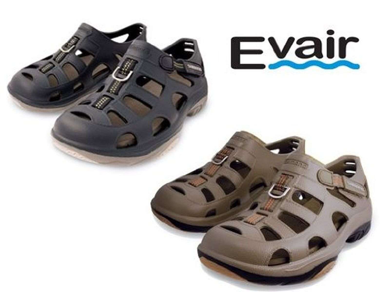 Shimano Evair Marine Fishing Shoe Black Evashbk