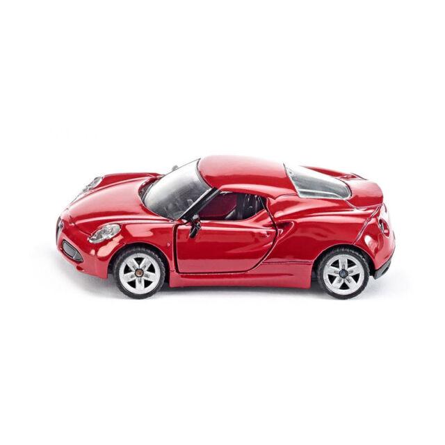 Siku 1451 Alfa Romeo 4C Roadster rouge échelle 1:55 Boursouflure