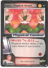 Dragonball Z TCG *Gratis Schutzhülle* | Tien´s physical attack - #27 | 2000