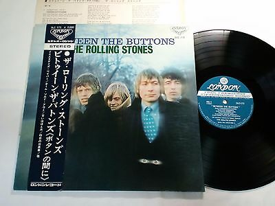 ROLLING STONES BETWEEN THE BUTTONS JAPAN ORIGINAL SLC137 with OBI