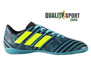 uk availability e7c2f 9c70d ... official store caricamento dellimmagine in corso adidas nemeziz blu  nero scarpe bambino soccer indoor 8a4d2 31be8