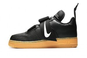 Nike Air Force 1 Low Utility Black Gum Sneakers AO1531 002