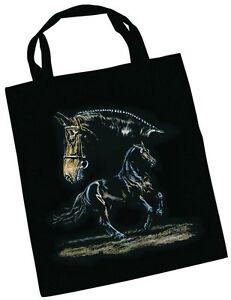 Designer Stofftasche Tasche mit Pferdemotiv Collection Boetzel Warmblut 08874